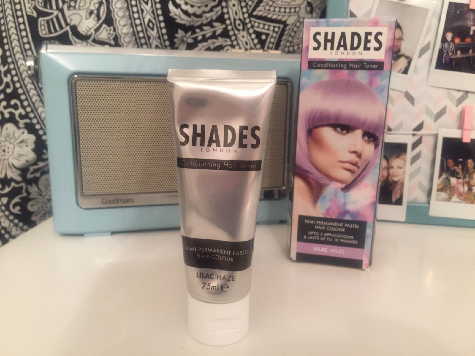 Shades London Hair Toner Lilac Haze